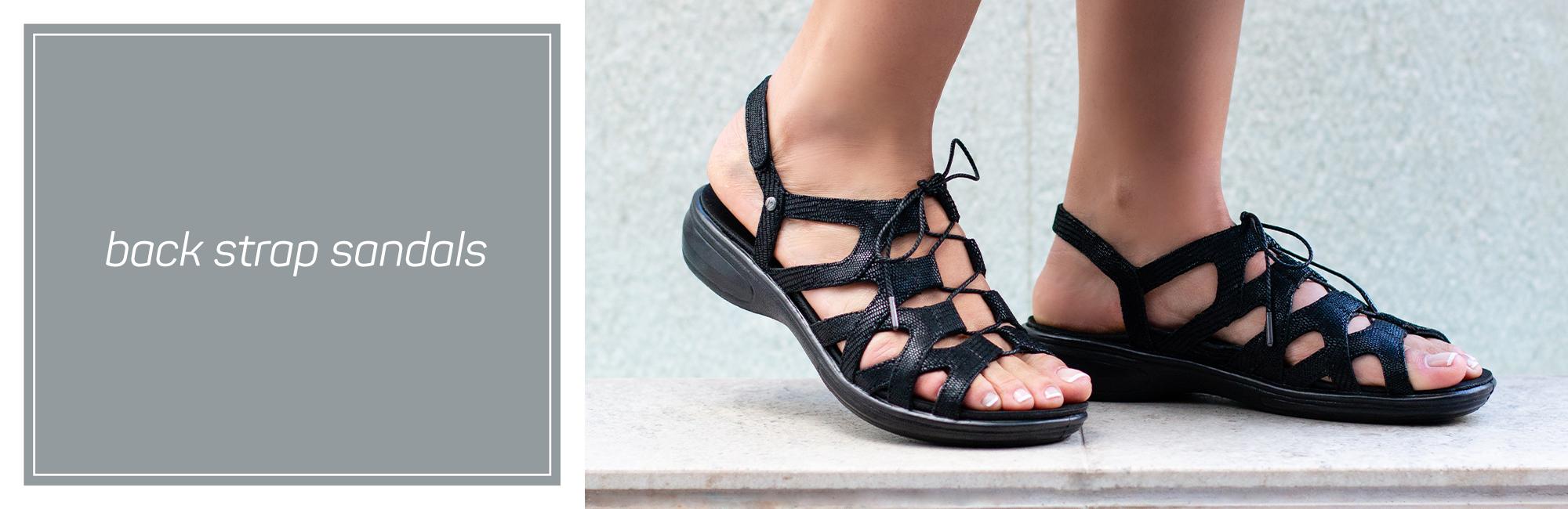 Back Strap Sandals